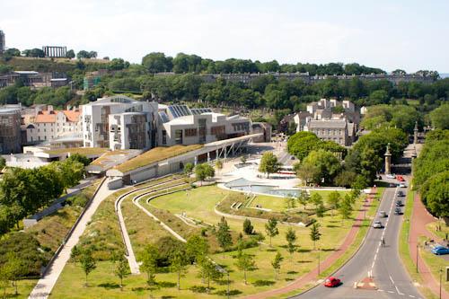 Škótsky parlament v Edinburghu