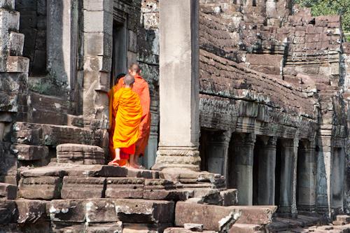 Pútnici v Angkor Wat