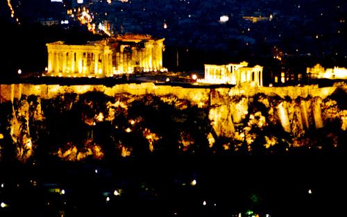Akropola - Atény, Grécko