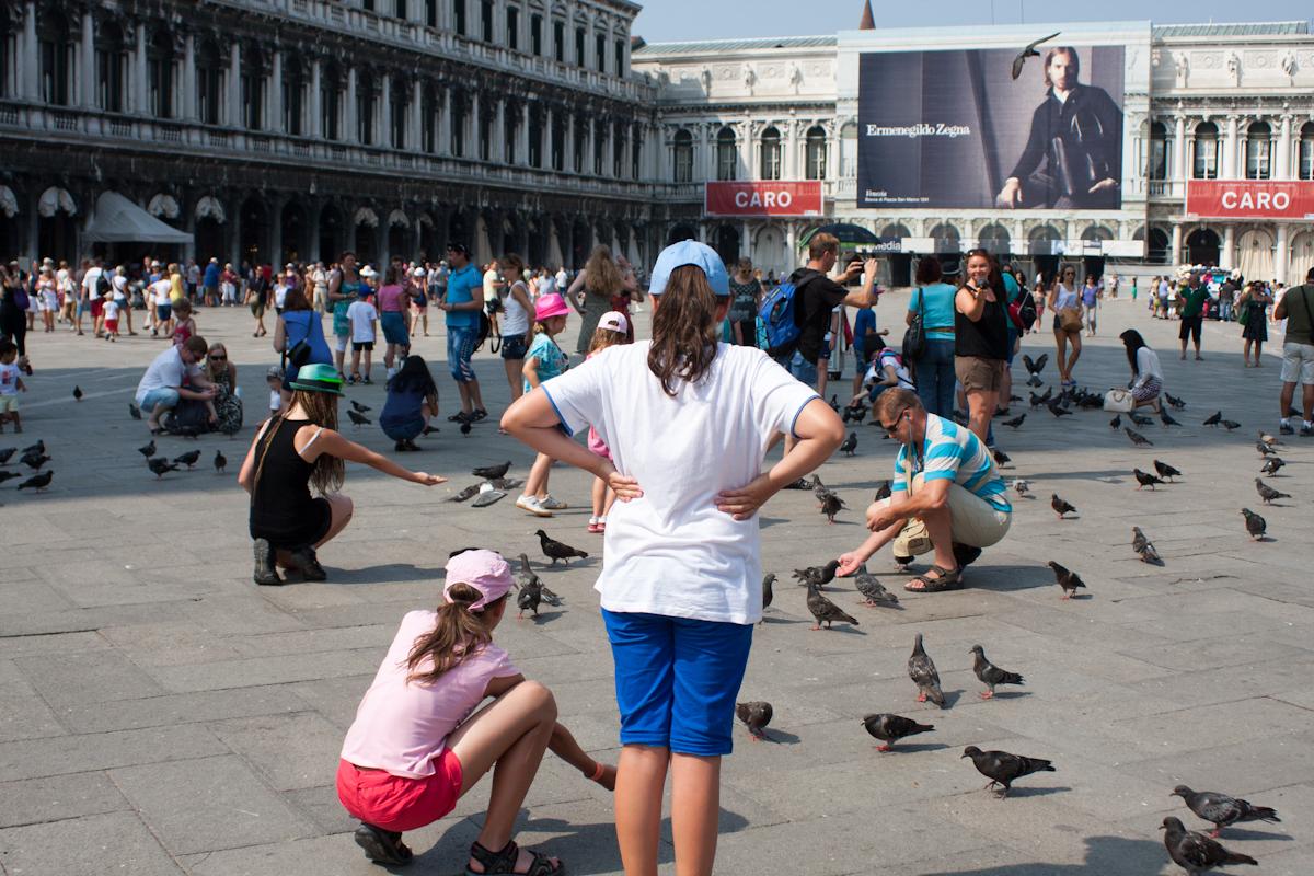 Benátky - Námestie svätého Marka