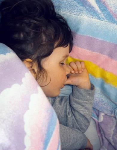 Pokojný spánok dieťaťa