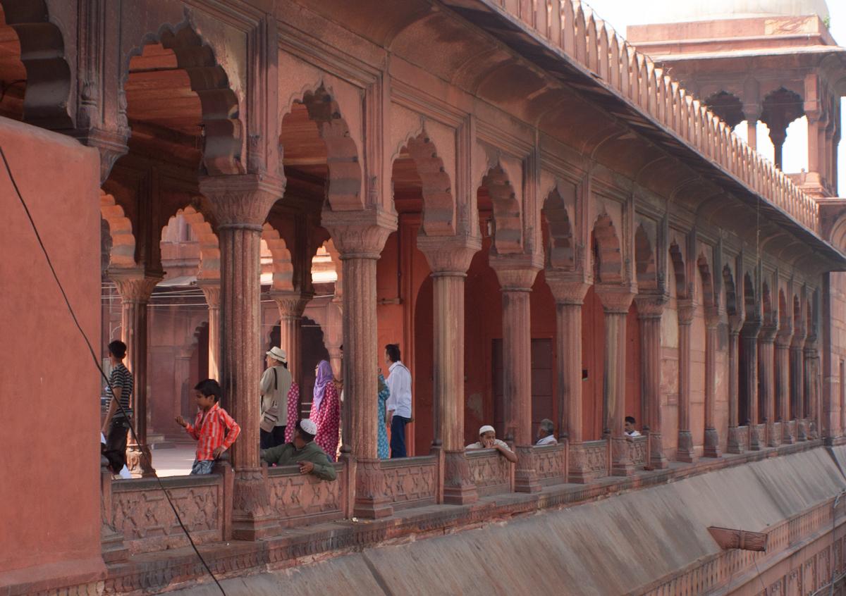 Mešita Jama Masjid v Dillí (India)