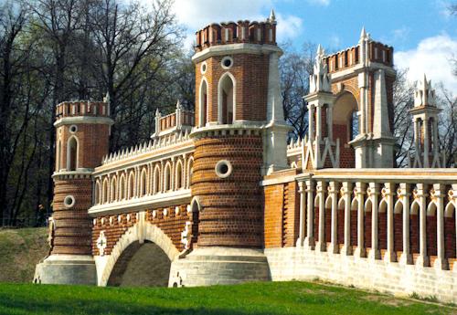 Moscow - Tsaritsino Park