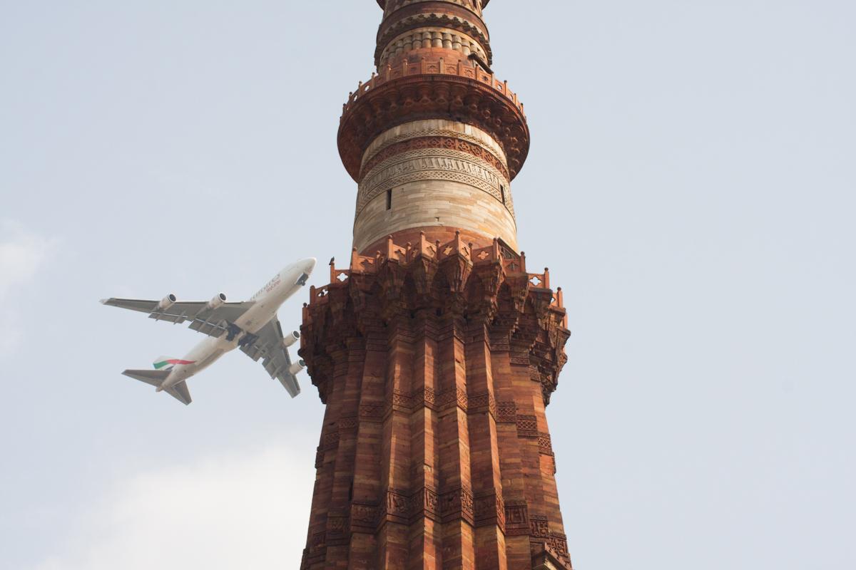 Qutub minar v Dillí