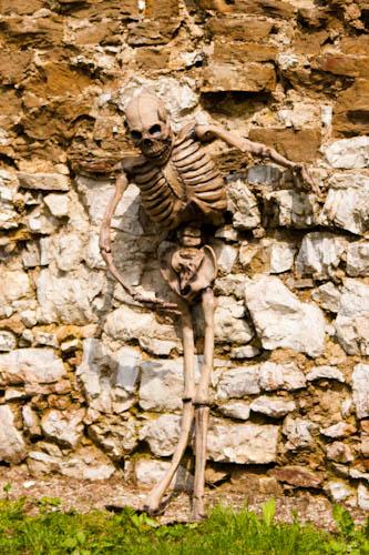 Smrtka na hrade v Starej Ľubovni