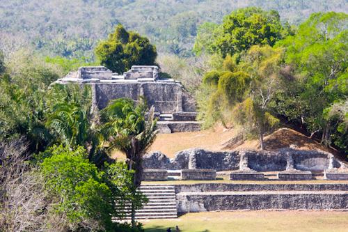 Xunantunich - archeologická lokalita v Belize (Ríša Mayov)