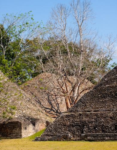 Xunantunich - ruiny starobylých Mayských chrámov a pyramíd (Belize)